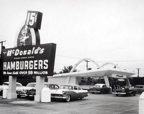 Historia de la franquicia, primer McDonald