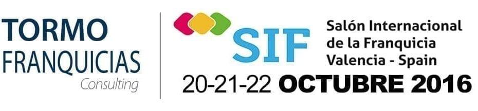 sif1 930x216 - Tormo Franquicias Consulting presentará en el SIF, una amplia oferta de franquicias