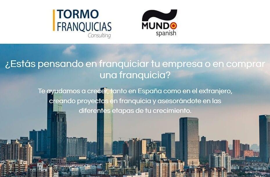 acuerdo de colaboracion entre tormo franquciias y mundo spanish1 930x608 - Tormo Franquicias y Mundo Spanish impulsan la internacionalización de la franquicia española
