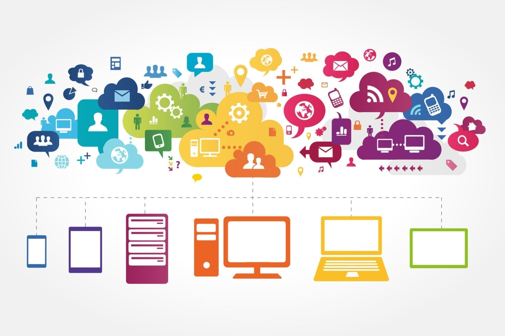 redes sociales en la franquicia