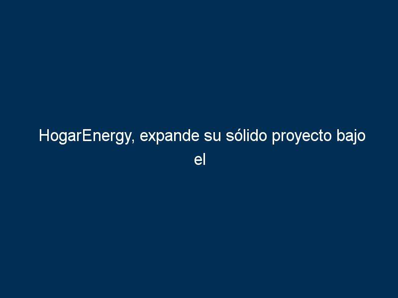 hogarenergy expande su solido proyecto bajo el sistema de franquicia con el apoyo de tormo franquicias consulting 296249 - HogarEnergy, expande su sólido proyecto bajo el sistema de franquicia con el apoyo de Tormo Franquicias Consulting